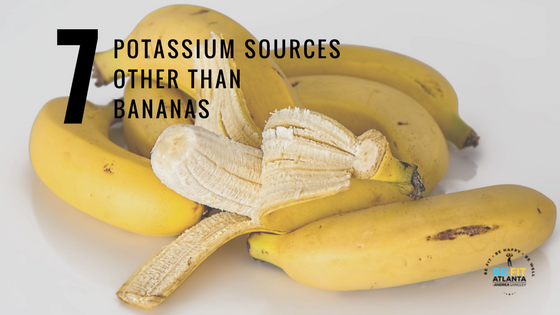 Great Potassium Sources other then Bananas!